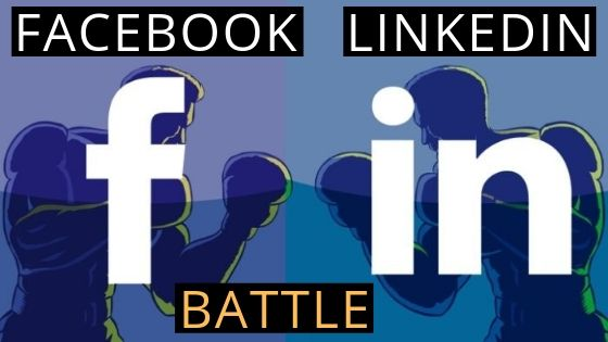 facebook vs linkedin gd topic