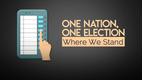 one election one nation