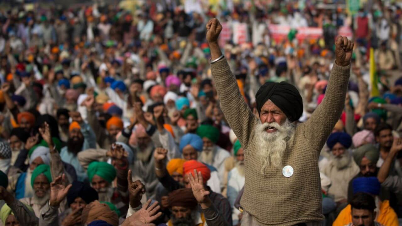 why are farmers protesting in India