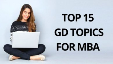 gd topics for mba